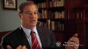 David Levy, del Centro de Pronósticos Jerome Levy